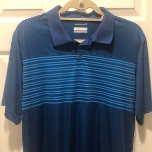 Men's Columbia omniwick polo shirt